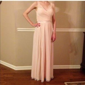 NWT BHLDN Fleur dress in blush